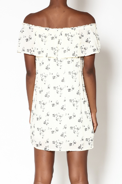 Miley and Molly Ivory Floral Dress - Alternate List Image