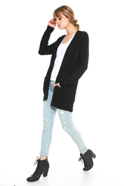Miley and Molly 2 Pockets Sweater Cardigan For Women - Back cropped