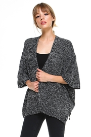 Miley and Molly 2 Tone Hanky Hem Cardigan - Product Mini Image