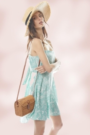 Miley and Molly A Line Floral Tie Back Slip Dress - Product Mini Image