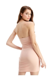 Miley and Molly Bra Cupped Tulip Hem Tube Dress - Side cropped