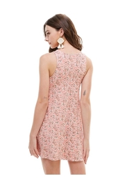 Miley and Molly Brushed Ditsy Floral Muscle Tank A Line Dress - Back cropped
