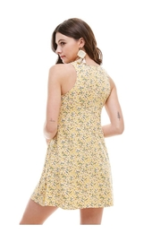 Miley and Molly Brushed Ditsy Floral Muscle Tank A Line Dress - Side cropped