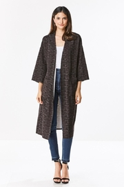 Miley and Molly Brushed Knit Maxi Cardigan - Product Mini Image
