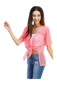 Miley and Molly Cover Up Blouse Gown Top Crop Shrugs Top - Product List Image
