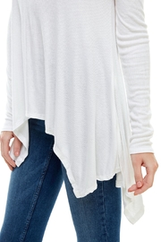 Miley and Molly Everyday Favorite Ribbed Knit Top - Side cropped
