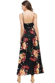 Miley and Molly Floral Spaghetti Strap Maxi Dress - Side cropped