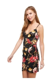 Miley and Molly Floral Wrap Dress - Product Mini Image