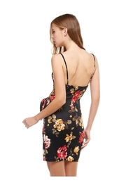 Miley and Molly Floral Wrap Dress - Side cropped