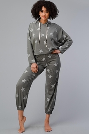 Miley and Molly Hoodie Jogger Set Pajama Pj Loungewear Set Star - Other