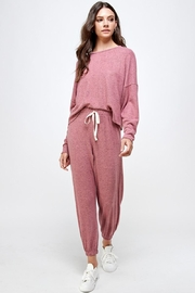 Miley and Molly Jogger Sets Lounge Wear Set Pajama Set Joggers - Product Mini Image