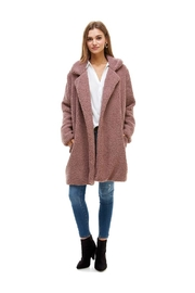 Miley and Molly Long Line Coat Fur Jacket - Product Mini Image