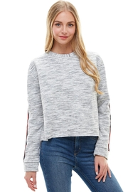 Miley and Molly Long Sleeve Sweatshirt Top For Women - Product Mini Image