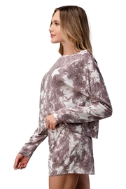 Miley and Molly Lounge Wear Pajama Set With Star Matching Set - Side cropped