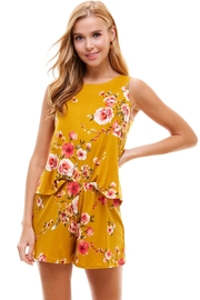 Miley and Molly Lounge Wear Set For Women's Sleeveless Top & Short Matching Sets - Product Mini Image