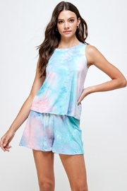 Miley and Molly Multi Color Tie Dye Lounge Wear Matching Sets - Product Mini Image