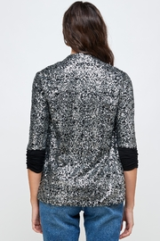 Kaii Sequins Cover Up Party Blazer Top - Side cropped