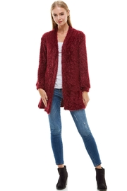 Miley and Molly Shaggy Loose Fit Long Sweater Cardigan - Other