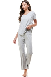 Miley and Molly Solid Lounge Wear Matching Sets For Women - Product Mini Image