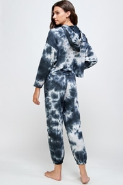 Miley and Molly Tie Dye Hoodie & Jogger Pants Set - Back cropped