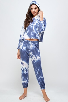 Miley and Molly Tie Dye Hoodie & Jogger Pants Set - Product List Image