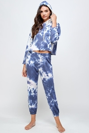 Miley and Molly Tie Dye Hoodie & Jogger Pants Set - Front cropped