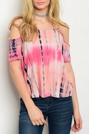 Miley and Molly Tie Dye Top - Product Mini Image