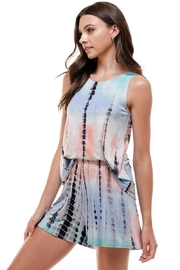 Miley and Molly Tie Dye Top & Short Lounge Wear Matching Sets - Product Mini Image
