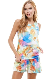 Miley and Molly Top & Short Matching Sets Lounge Wear Sets - Product Mini Image