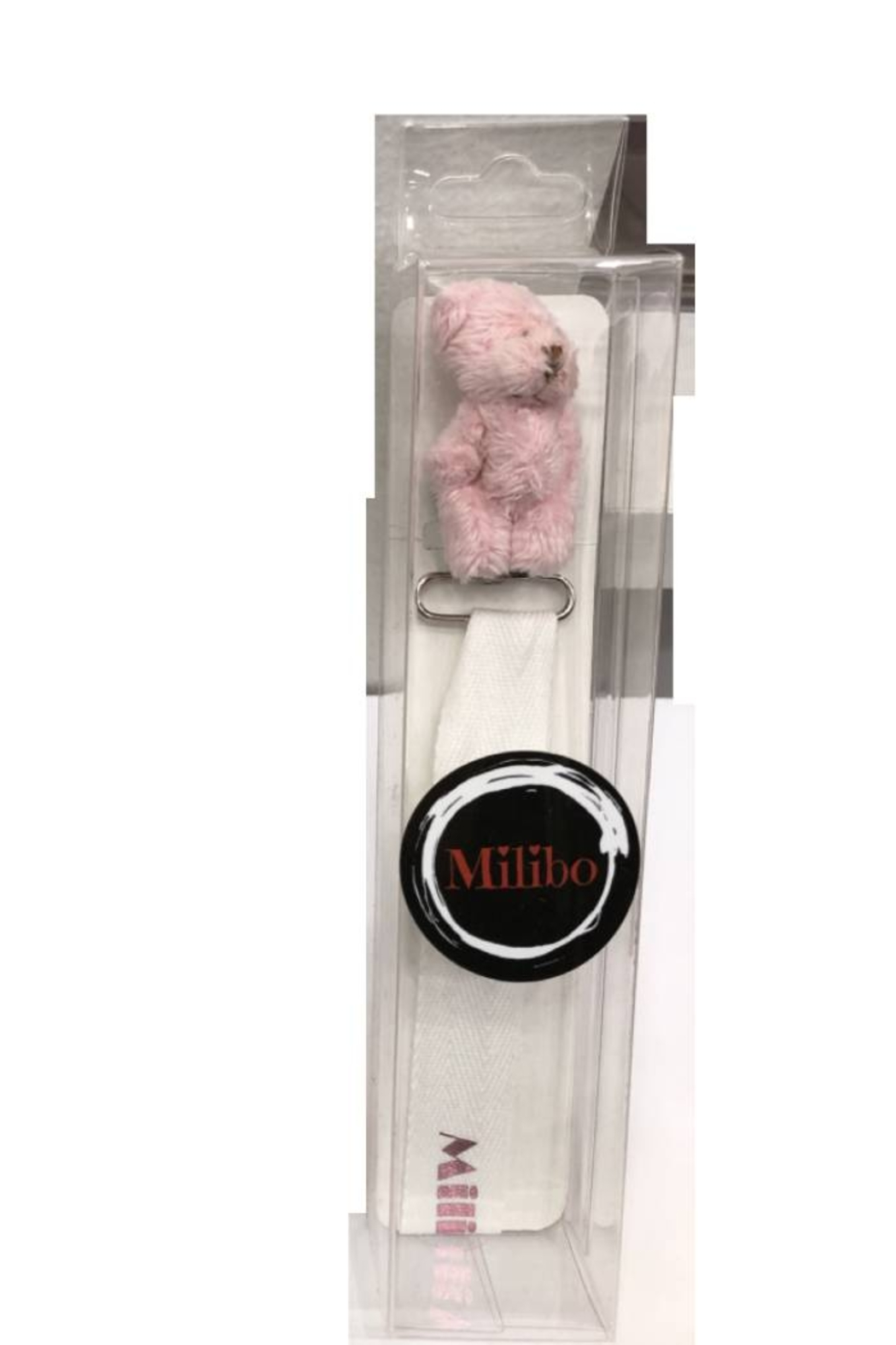 MILIBO Milibo Bear Pacifier Clip for Newborns - Front Cropped Image