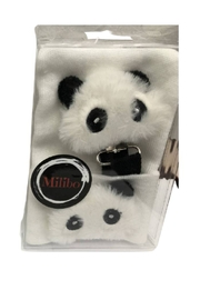 MILIBO Milibo Panda Bear Gift Set For Newborn(Hat + Pacifier Clip) - Front cropped