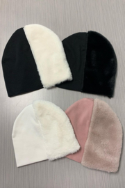 MILIBO Milibo Soft Fur Hats for Baby Boy or Girl | Very Comfy - Front full body