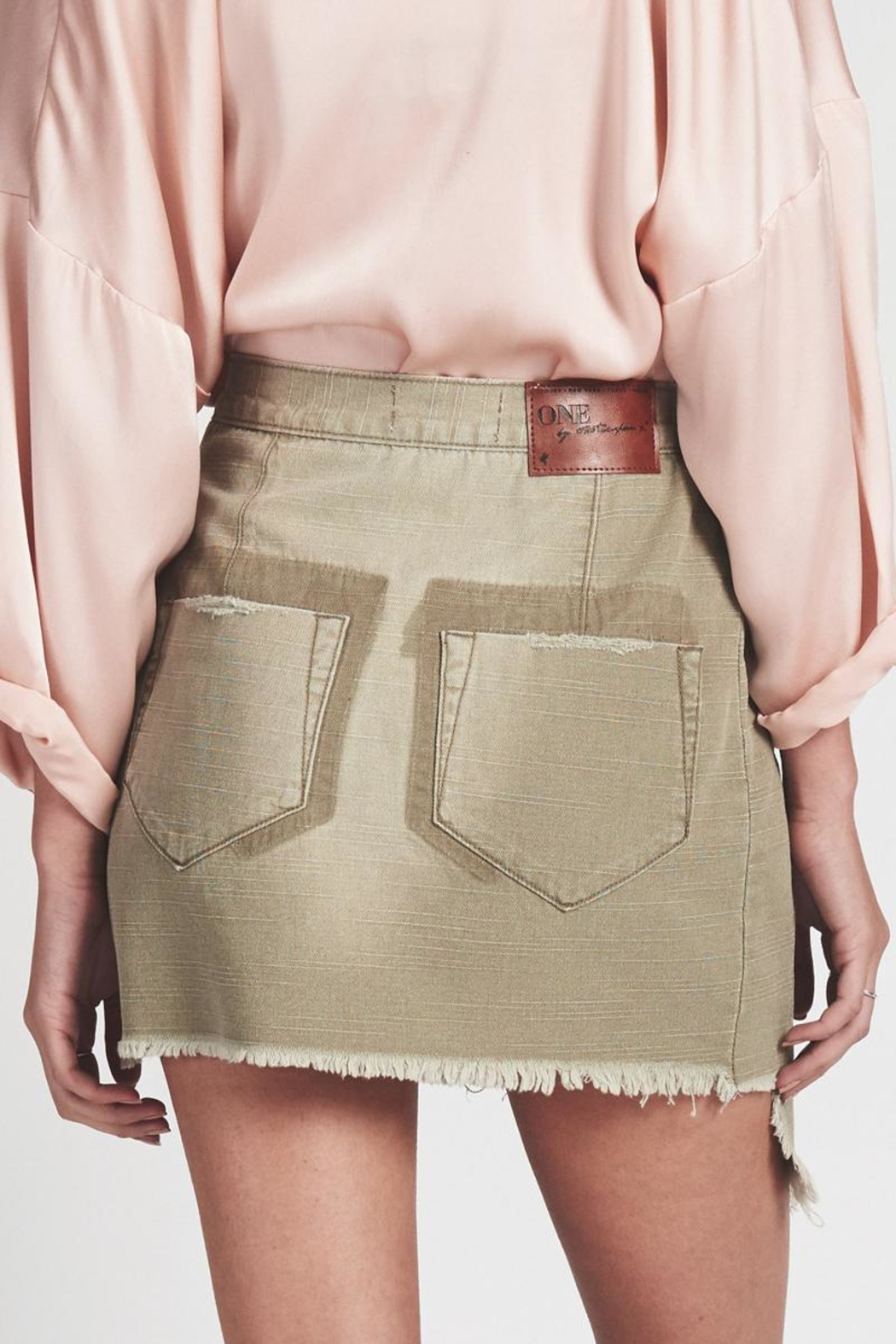 One Teaspoon Militaire Wild-Thing Skirt - Side Cropped Image