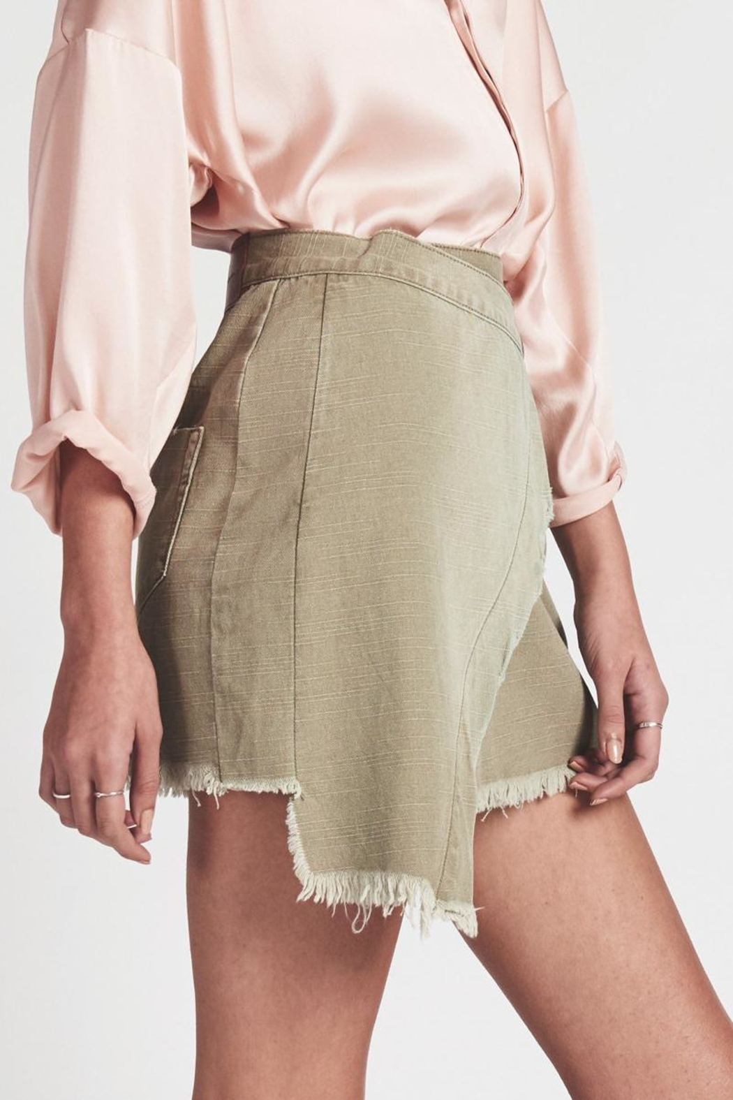 One Teaspoon Militaire Wild-Thing Skirt - Front Full Image