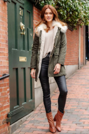 Fabulous Furs Military Issue Jacket - Front cropped