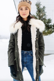 Fabulous Furs Military Issue Jacket - Front full body