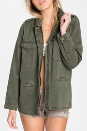 Billabong Military Jacket - Front full body