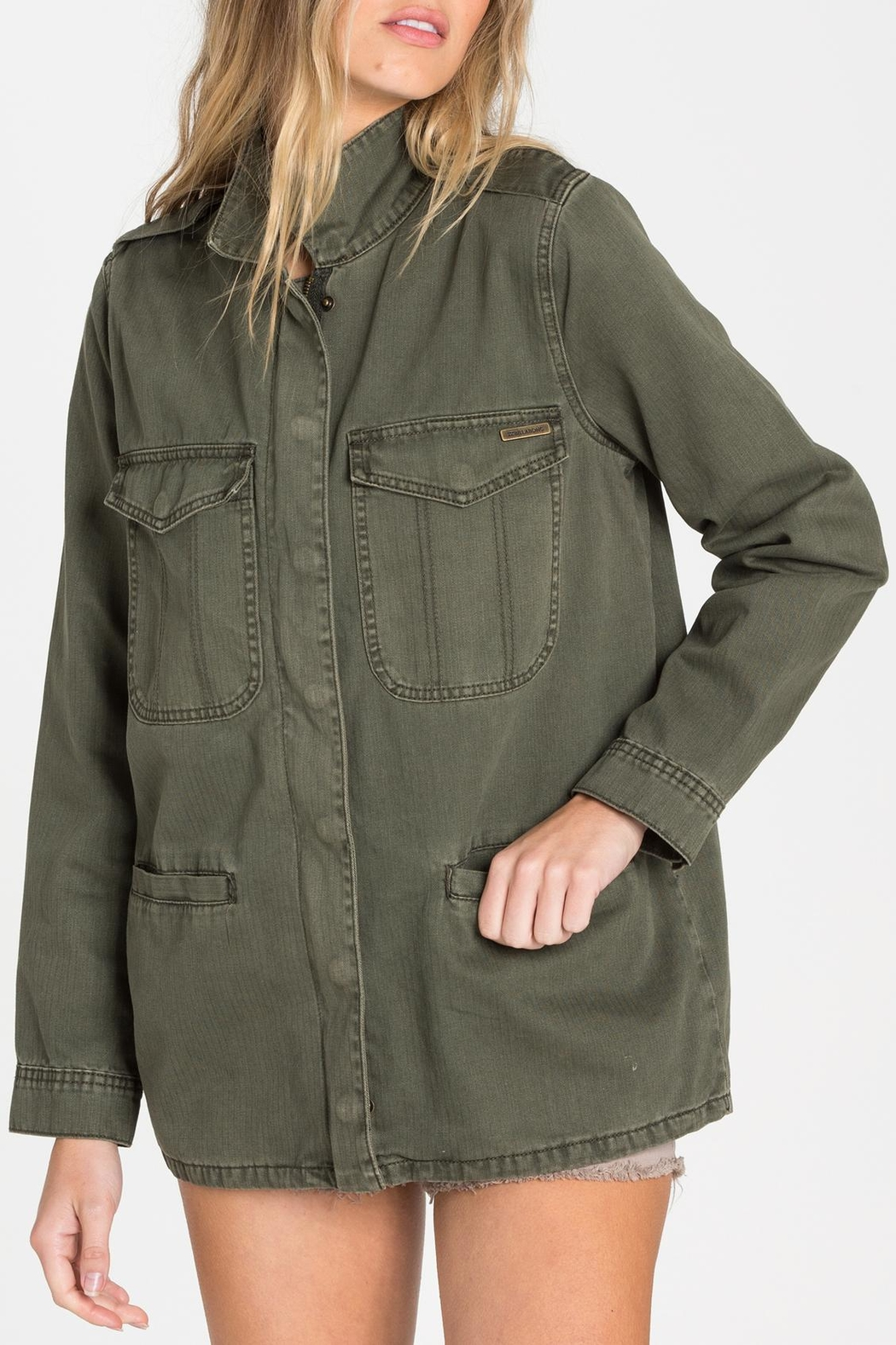Billabong Military Jacket - Side Cropped Image
