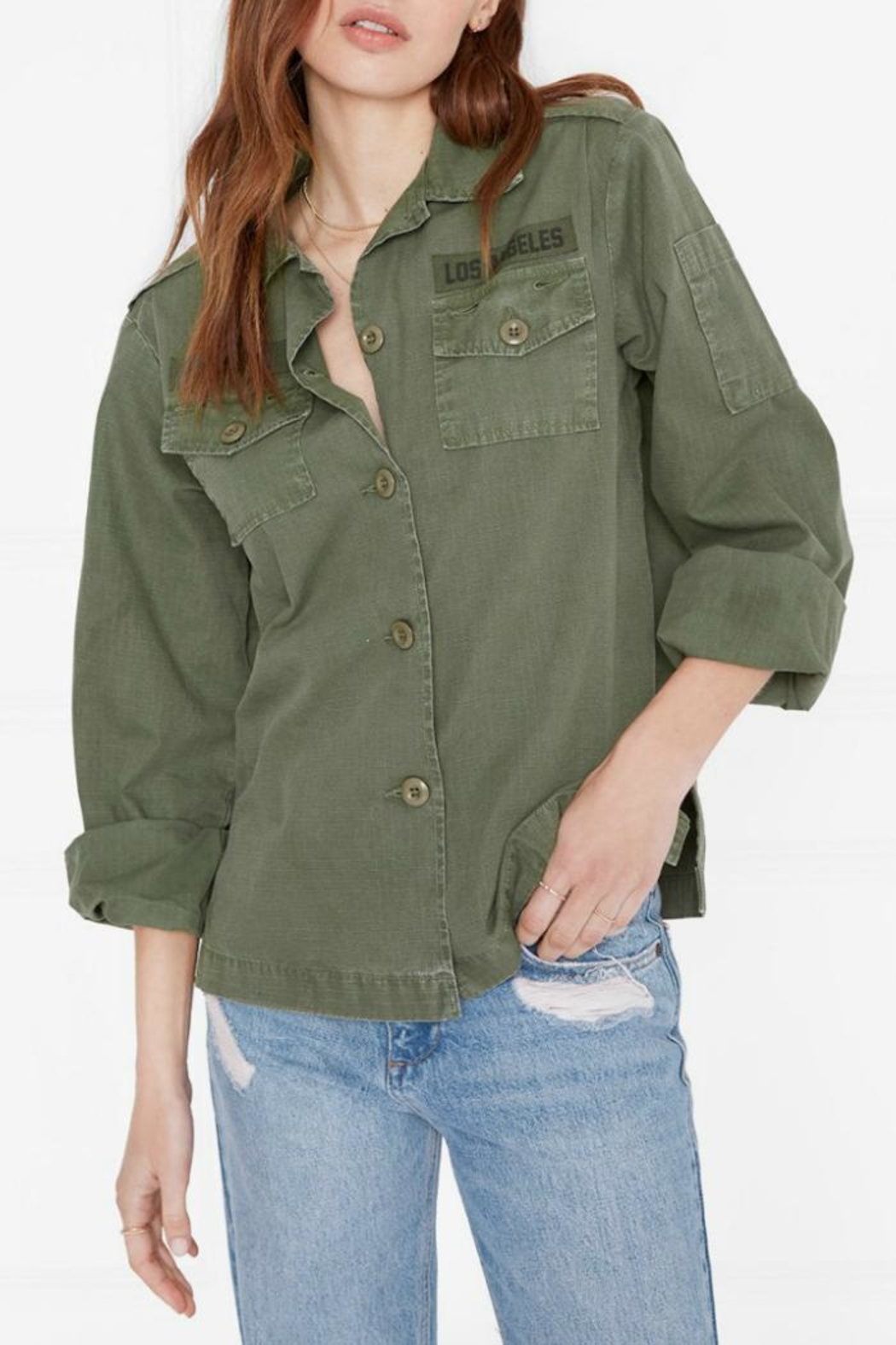 a418a6a23f Anine Bing Military Shirt from Canada by Era Style Loft — Shoptiques