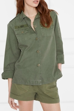 Anine Bing Military Shirt - Alternate List Image