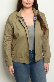 Lyn -Maree's Military Style Jacket - Product Mini Image