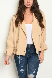 Lyn -Maree's Military Style Jacket - Front cropped