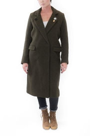 Scotch and Soda Military Wool Coat - Product Mini Image