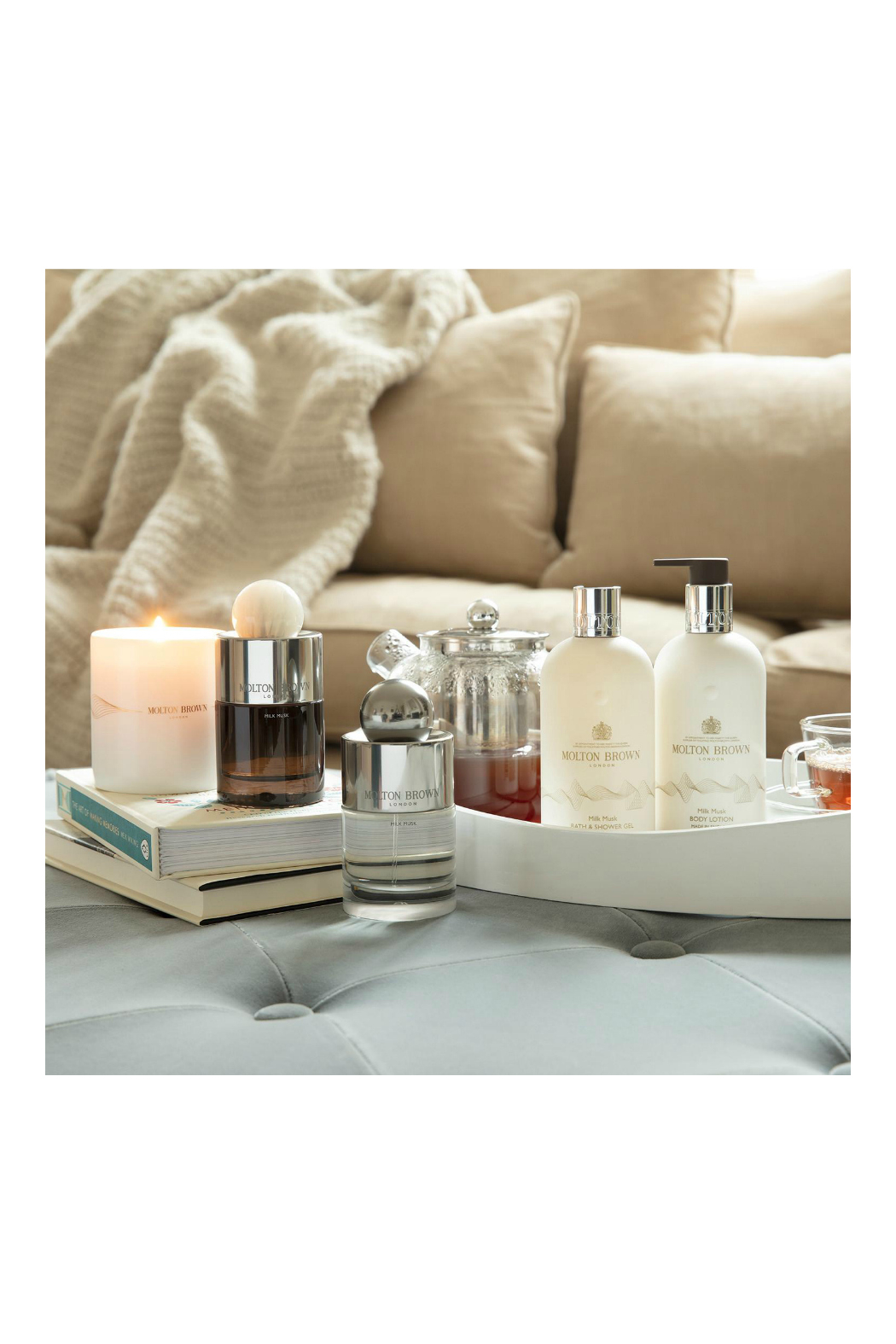 Molton Brown Milk Musk Body Lotion - Side Cropped Image