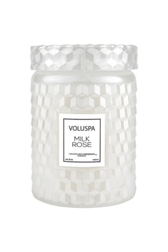 Shoptiques Product: Milk Rose Large Jar Candle