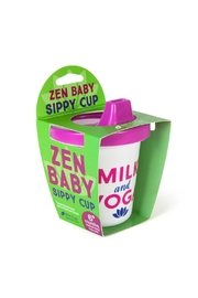 Gama-Go Milk & Yoga Sippycup - Front full body