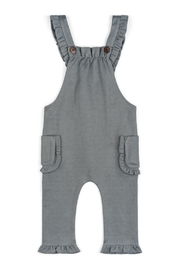 Milkbarn Ruffle Overall - Front cropped