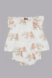 Milkbarn Kids Bamboo Dress Bloomer Set - Product Mini Image