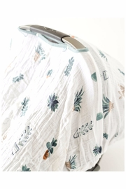 Little Unicorn Carseat Canopy Pricklepots - Side cropped