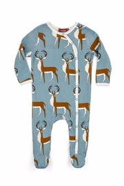 Milkbarn Kids Buck Footed Romper - Product Mini Image